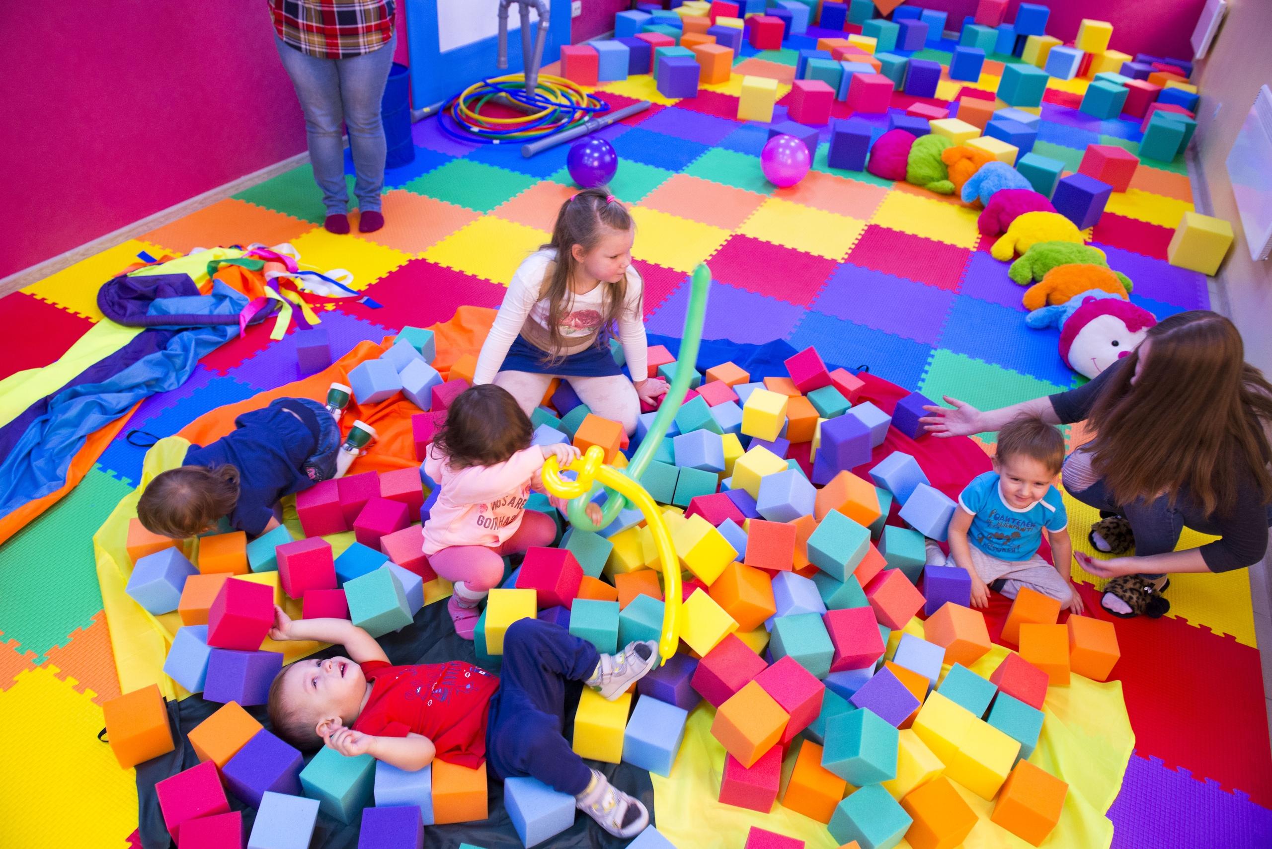 Поролон для детских комнат