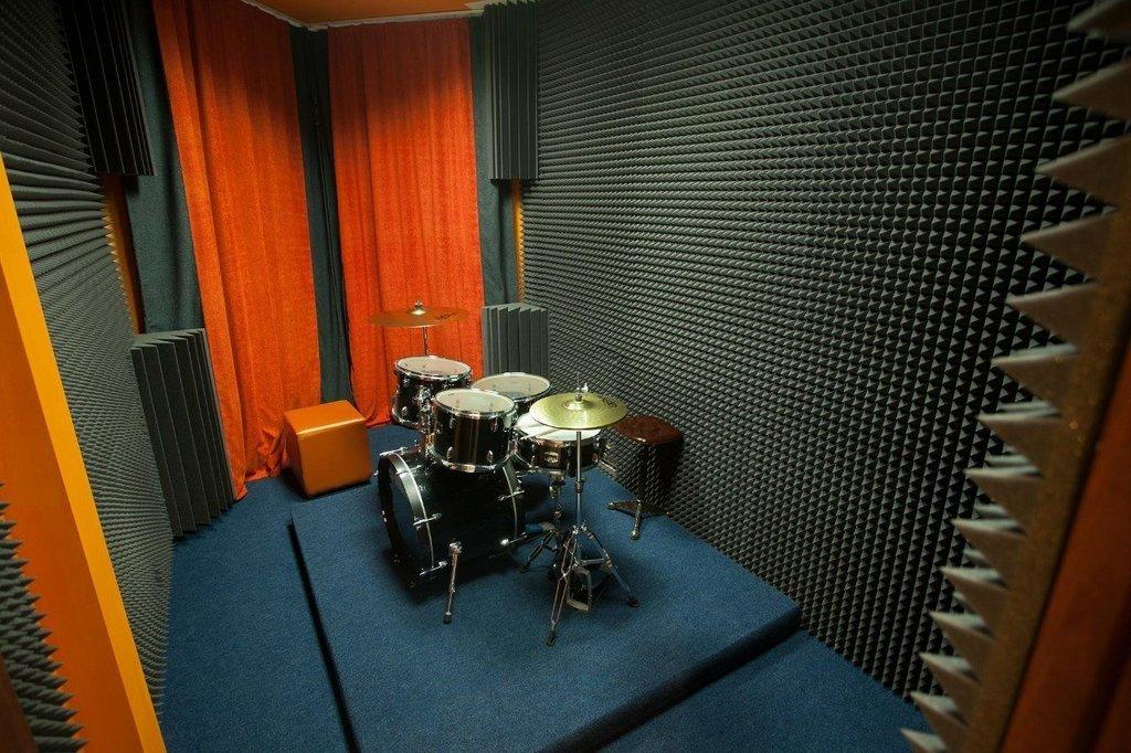 Применение акустического поролона