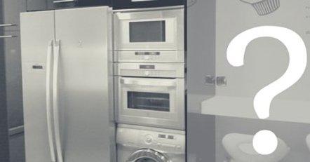 Как поставить холодильник на кухне