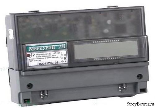 Счетчик электроэнергии «Меркурий»