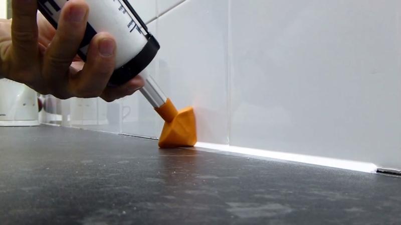 Высыхание силиконового герметика